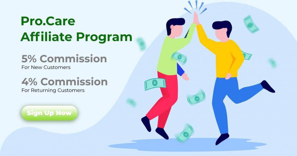 procare affiliate program banner